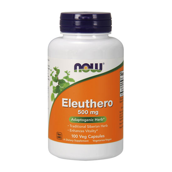 Picture of Eleuthero 500 mg Veg Capsules