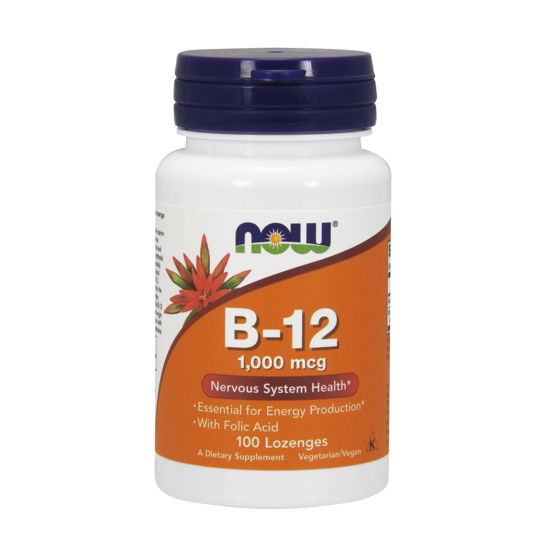 Picture of Vitamin B-12 (1000 mcg) with Folic Acid Lozenges