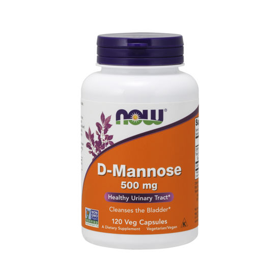 Picture of D-Mannose 500 mg Veg Capsules