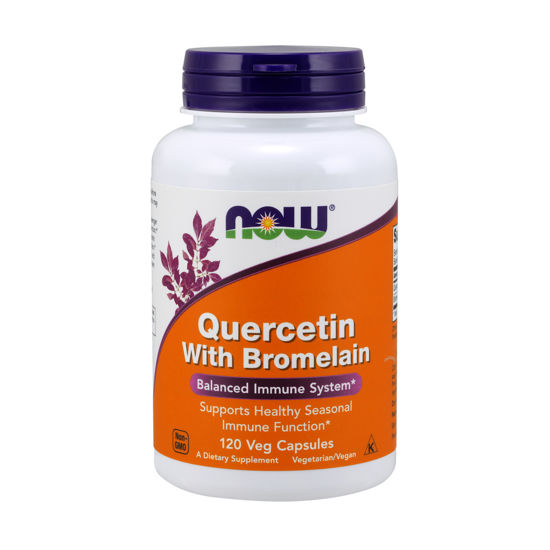 Picture of Quercetin with Bromelain Veg Capsules