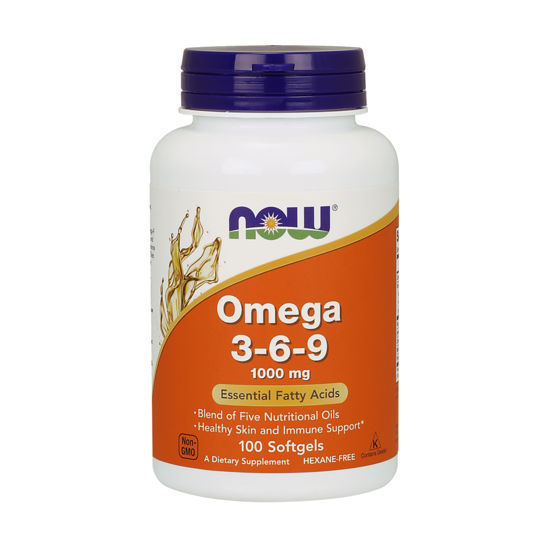 Picture of Omega 3-6-9 1000 mg Softgels