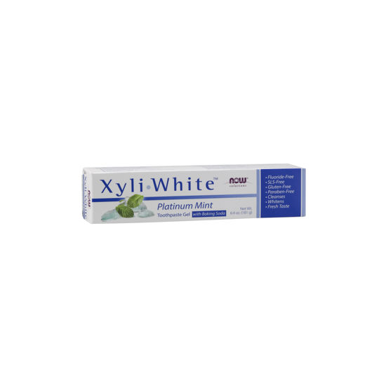 Picture of XyliWhite Platinum Toothpaste Gel with Baking Soda