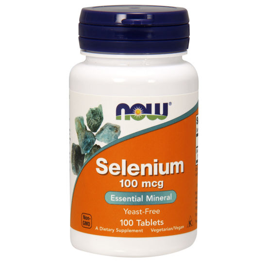 Picture of Selenium 100 mcg Tablets