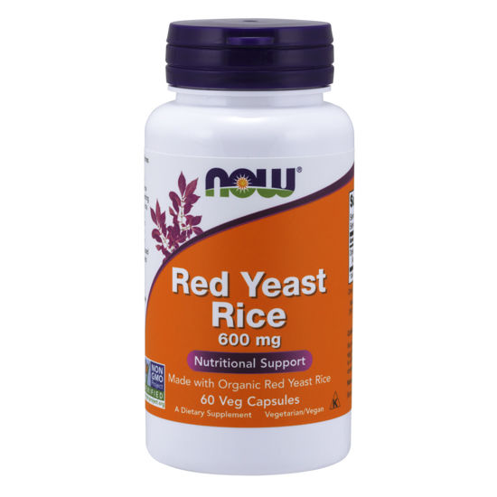 Picture of Red Yeast Rice 600 mg Veg Capsules